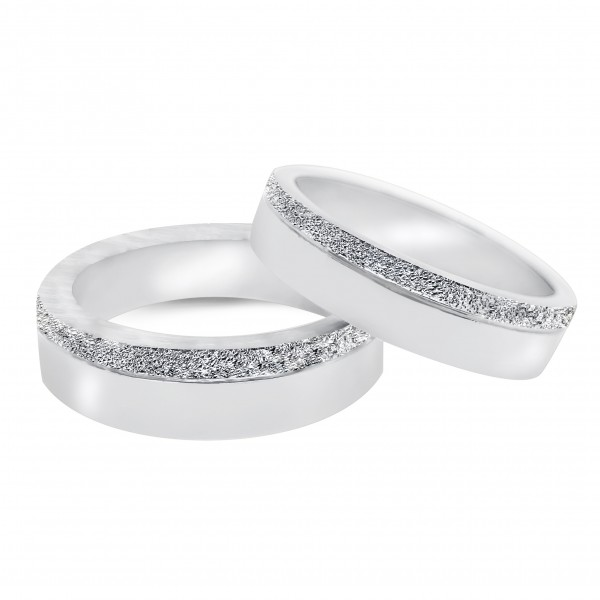 Special Matte-Finish Wedding Rings