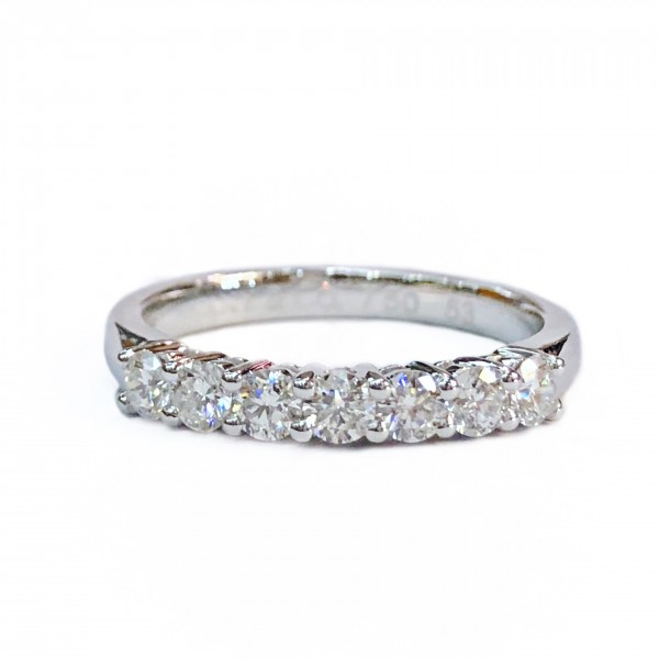 (PFDDER56-PRBN) 18K Gold 0.56CT  Diamond Eternity Ring