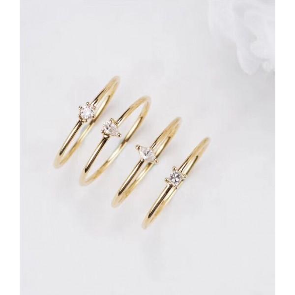 (PFDRGDR-RTP) 18K Gold Diamond Ring