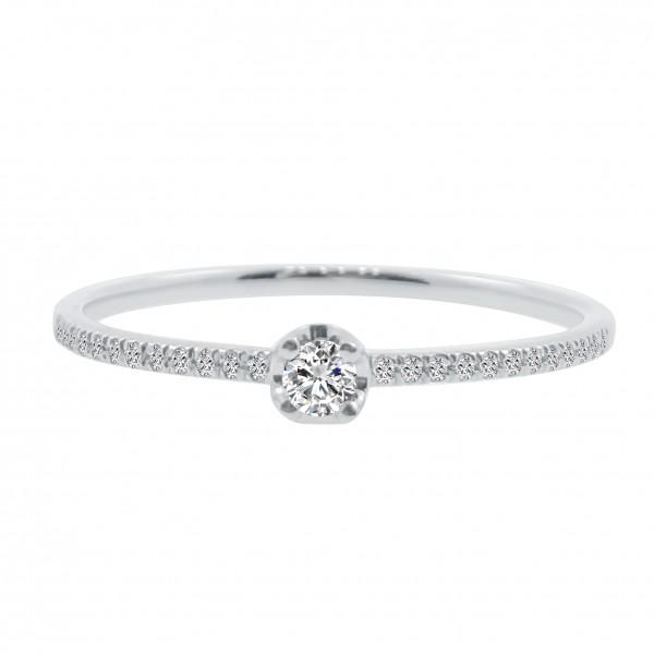 (PFDDRFP1109) 18K Gold Women Diamond Ring