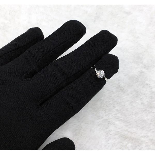 (PFDDRFT0811) 18K Gold 0.43ct Women Diamond Ring