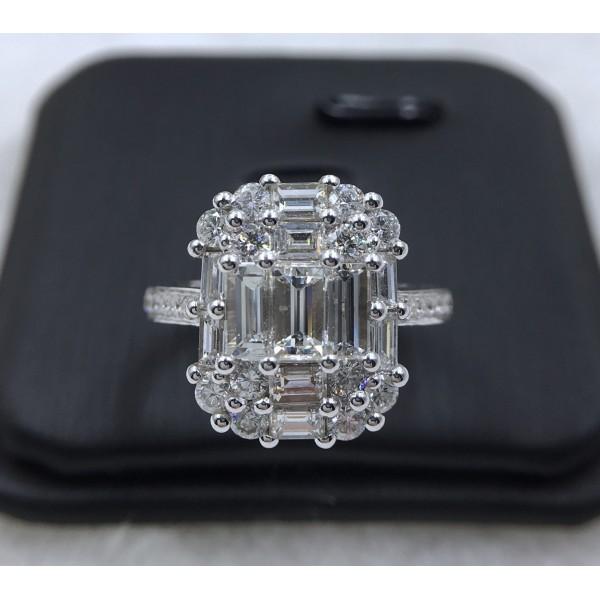 (PFDDROPFCT1101) 18K Gold Women Diamond Ring