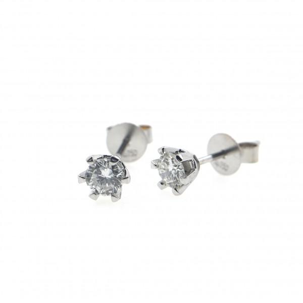 18K Gold 0.30ct Diamond Earrings