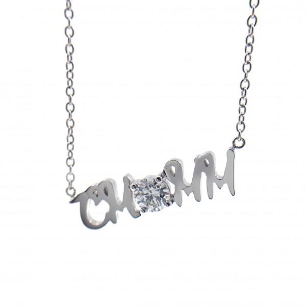 (PFDWDND3B01) 18K Gold 0.3ct Diamond Necklace